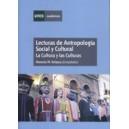 Lecturas de Antropologia Social y Cultural. la Cultura y (7090101-102)