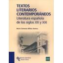 Textos Literarios Contemporáneos. Literatura Española de los Siglos XX y Xxi (45