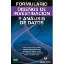 FORMULARIO DISEÑO DE INVESTIGACIÓN Y ANÁLISIS DE DATOS