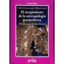 EL SURGIMIENTO DE LA ANTROPOLOGIA POSMODERNA (1C)