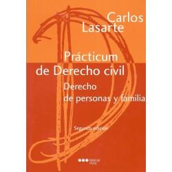 PRÁCTICUM DE DERECHO CIVIL DERECHO DE PERSONAS Y FAMILIA (nueva edición curso 2016-17)