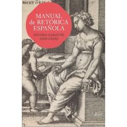 MANUAL DE RETÓRICA ESPAÑOLA (nueva edición curso 2016-17)