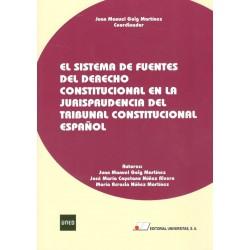 EL SISTEMA DE FUENTES EN EL LA JURISPRUDENCIA CONSTITUCIONAL ESPAÑOLA