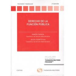 DERECHO DE LA FUNCIÓN PÚBLICA (nueva edición curso 2016-17)