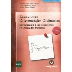 ECUACIONES DIFERENCIALES ORDINARIAS: INTRODUCCIÓN A LAS ECUACIONES EN DERIVADAS PARCIALES (nueva edición curso 2016-17)