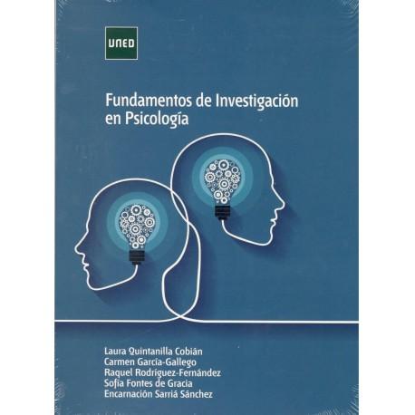 FUNDAMENTOS DE INVESTIGACIÓN EN PSICOLOGÍA (novedad curso 2019-20)