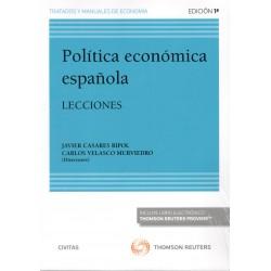 POLITICA ECONOMICA SECTORIAL E INSTRUMENTAL EN ESPAÑA: EVOLUCION E INTERDISCIPLI