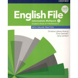 ENGLISH FILE INTERMEDIATE. STUDENT BOOK WORKBOOK MULTIPACK A