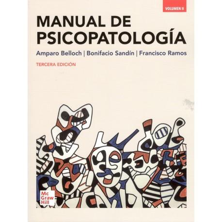 MANUAL DE PSICOPATOLOGÍA VOLUMEN II (nueva ed. curso 2020-21)