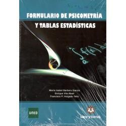 FORMULARIO DE PSICOMETRÍA Y TABLAS ESTADÍSTICAS (novedad curso 2015-16)