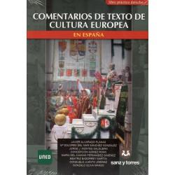 COMENTARIOS DE TEXTOS DE CULTURA EUROPEA EN ESPAÑA (nueva edición curso 2016-17)
