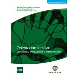ORIENTACIÓN FAMILIAR CONTEXTOS EVALUACIÓN E INTERVENCIÓN (novedad curso 2015-16)