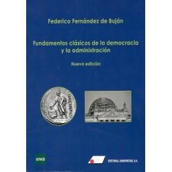 FUNDAMENTOS CLÁSICOS DE LA DEMOCRACIA Y LA ADMINISTRACIÓN (novedad 2019-20)